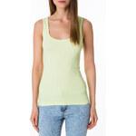 Tally Weijl Green Basic Vest Top