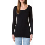 Tally Weijl Black Basic Longsleeve Top
