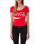 "Tally Weijl Red ""Coca Cola"" Bodysuit"
