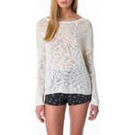 Tally Weijl Cream Knitted Jumper