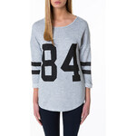 "Tally Weijl Grey ""84"" Sweater"