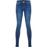 Tally Weijl Medium Wash Low-Waist Skinny Jeans