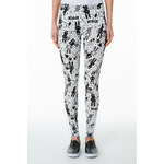 "Tally Weijl White ""Scribble Bunny"" Print Leggings"