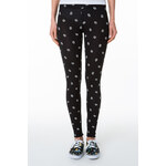 "Tally Weijl Black ""Bang"" Print Leggings"