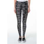 Tally Weijl Black & White Patterned Leggings