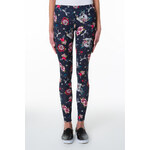 "Tally Weijl Navy ""Tattoo"" Print Leggings"