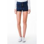 Tally Weijl Dark Blue High Waist Denim Shorts