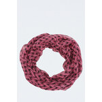 "Tally Weijl Pink ""Triangle"" Print Snood Scarf"