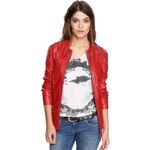 s.Oliver Leather jacket with breast pockets