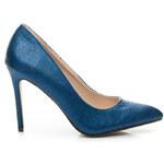 SERGIO TODZI Luxusní dámské lodičky - modré, vel. 37