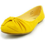 LightInTheBox Alexis Leroy Candy Comfortable Round Shallow Thermoplastic Elastomer Bottom Shoes(Mustard)