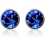 LightInTheBox Charming Round Crystal Stud Earrings(More Colors)