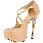 LightInTheBox Beautiful Leatherette Stiletto Heel Pumps With Button Party/Evening Shoes
