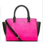 LightInTheBox Women Brand Contrast Color Tote Message Bag