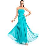 LightInTheBox Sheath/Column Strapless Floor-length Chiffon Evening/Prom Dress