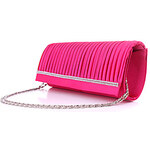LightInTheBox LouLanMeng Elegant Pleated Satin Evening Bag/Clutches