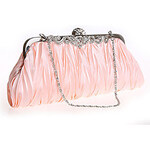 LightInTheBox LouLanMeng Simple Style Satin Evening Bag/Clutches(Champagne)