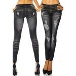 ATX Dámské legíny Denim / Jeans look - 12162
