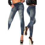 ATX Dámské legíny Denim / Jeans look - 12826
