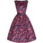 LINDY BOP Dámské šaty AUDREY Dreamy Daisy Velikost: 36