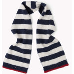 Tommy Hilfiger Mixed Fabric Scarf