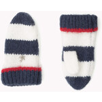 Tommy Hilfiger Mixed Fabric Mittens