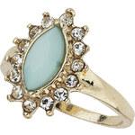 Topshop Green Vintage Look Midi Ring