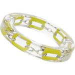 Topshop Transparent Yellow Chain Bracelet