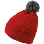 Seiden Grohn Ladies Hat, red/stone