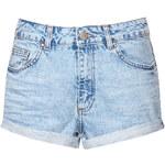Topshop MOTO Turn Up Hotpants