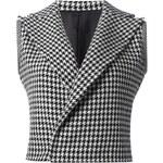 Yohji Yamamoto Vintage Sleeveless Houndstooth Jacket
