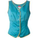 Kenzo Vintage Lace-Up Waistcoat