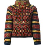 Christian Lacroix Vintage Patterned Brocade Sweater
