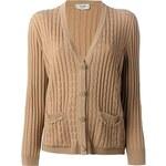 Céline Vintage Cable Knit Cardigan