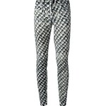 Proenza Schouler Pattern Print Jeans