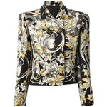 Versace Vintage Cropped Baroque Jacket