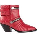 Giuseppe Zanotti Design Zipped Biker Ankle Boots