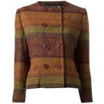 Jean Louis Scherrer Vintage Short Patterned Jacket