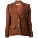 Givenchy Vintage Houndstooth Pattern Jacket