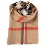 Burberry 'House Check' Fringed Scarf