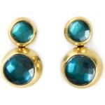 Vaubel Two Stone Earrings