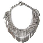 Saint Laurent 'Plume' Fringe Necklace