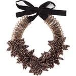 Night Market 'Deep Flower' Bib Necklace