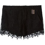 Thomas Wylde Floral Lace Shorts