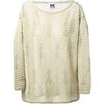M Missoni Woven Pattern Sweater