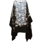 Givenchy Sheer Floral Poncho
