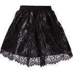 Maria Lucia Hohan Drawstring Lace Mini-Skirt