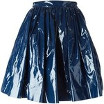 Msgm Pleated A-Line Skirt