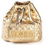 Moschino Mini Logo Bucket Backpack