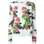 Msgm Msgm X Toilet Paper Magazine Rose Print Sweatshirt